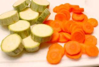 Жареная треска с овощами - приготовление