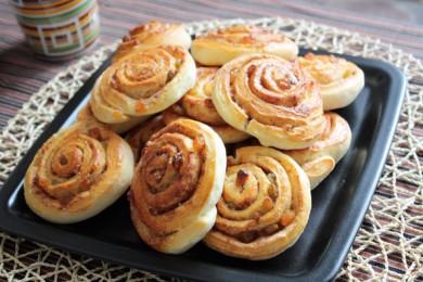 Рецепт Завиванцы (булочки с корицей)