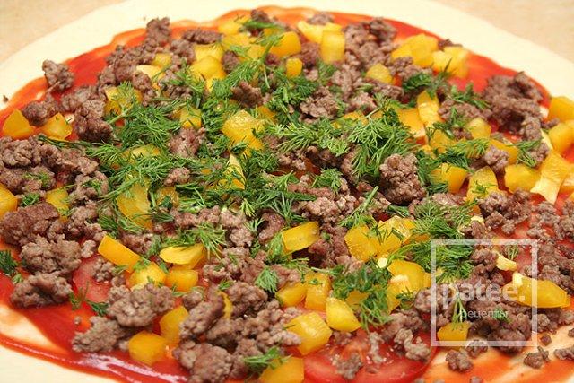 приготовления пиццы в домашних условиях рецепты