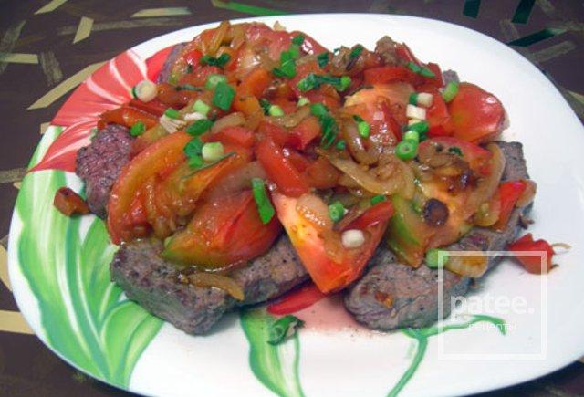 Бифштекс по мексикански рецепт