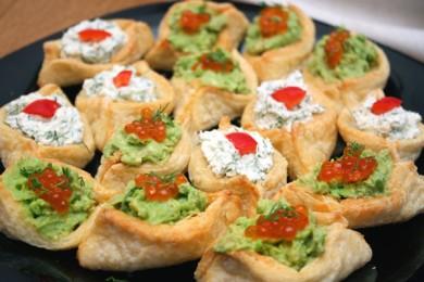Рецепт Тарталетки с начинкой