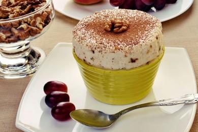 Рецепт Парфэ с грецкими орехами и медом