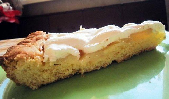Пирог с консервированными грушами рецепт с фото