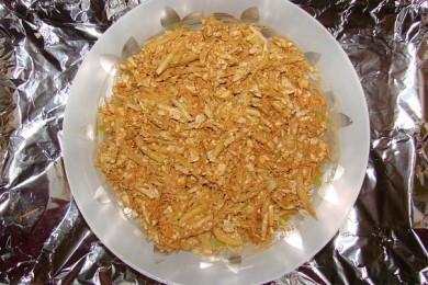 Рецепт Салат из моркови, китайской капусты и сыра