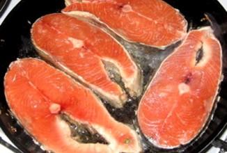 Пряные стейки  из лосося - Шаг 3