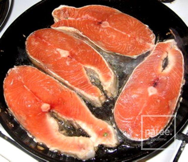 Приготовить стейк из семги на сковороде
