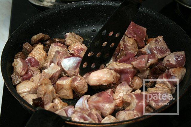 Обжарка из свинины рецепты