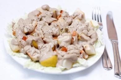 Гавайский куриный салат