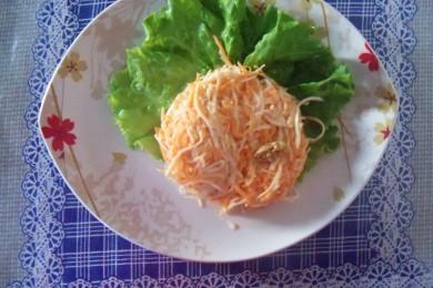 Рецепт Салат из сельдерея и моркови