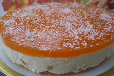 Рецепт Персиковый торт-суфле