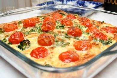 Рецепт Цветной пирог с овощами