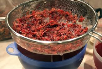 Ягодный кисель - приготовление