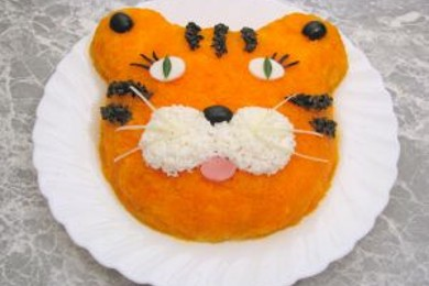 "Рецепт Салат ""Тигр"""