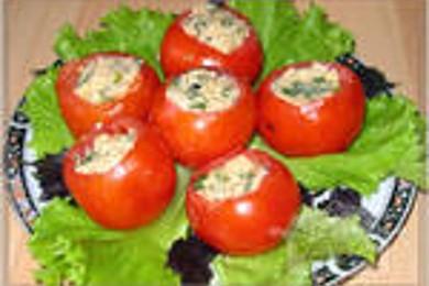 Рецепт Фаршированные помидоры с желатином