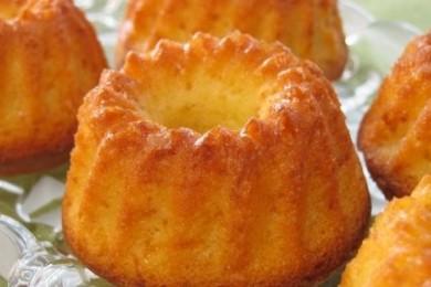 Рецепт Кексы с апельсиновой цедрой