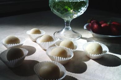 Рецепт Марципановые конфеты