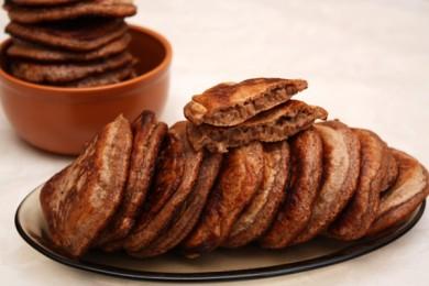 Рецепт Шоколадные оладьи