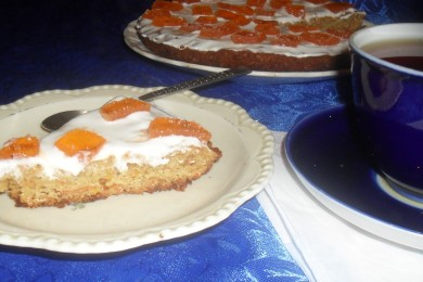 Рецепт Морковно яблочный пирог