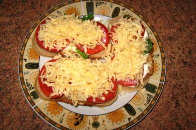 Рецепт Бутерброд с отбивной