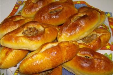 Рецепт Расстегаи с мясом