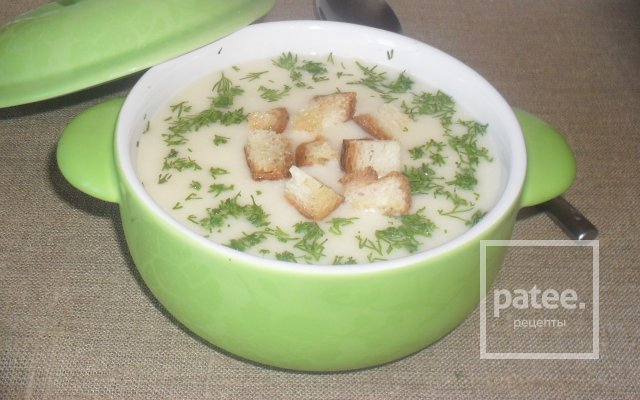 Суп с гренками рецепты с фото пошагово