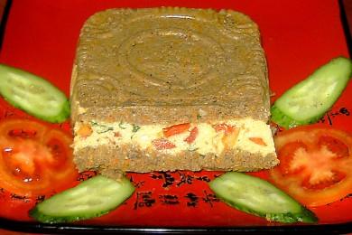Рецепт Паштет из говяжьей печени с сыром