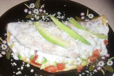 Рецепт Бразильский омлет с авокадо