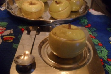 Рецепт Яблоки запеченные с творогом