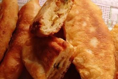 Рецепт Пирожки картофельные с капустой