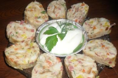 Рецепт Колбаса из булки