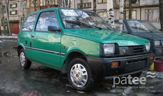 """Купить новую  """"Оку """" уже невозможно - два года назад этот автомобиль сняли..."""