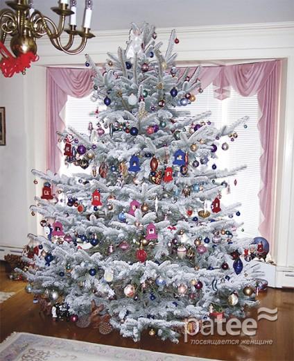 Фен шуй и новогоднее украшение елки
