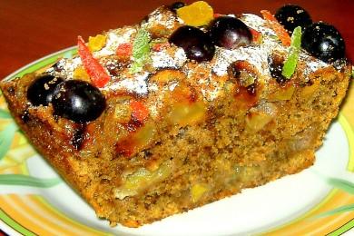 Рецепт Виноградно-ореховый пирог