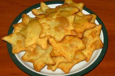Рецепт Картофельное печенье во фритюре