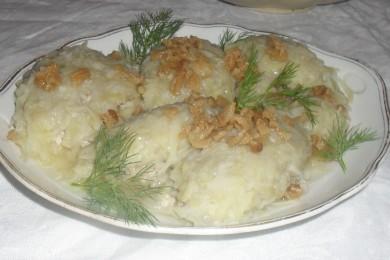 Рецепт Цепелинай с мясом