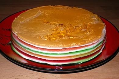 Рецепт торт «Радуга»