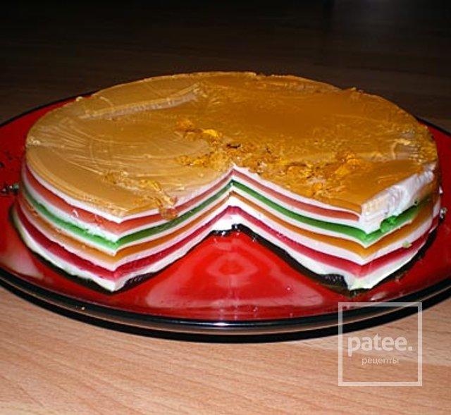 Как сделать торт из желатина и сметаны