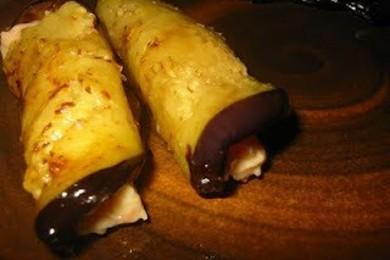 Рецепт Баклажаны с чесночной начинкой
