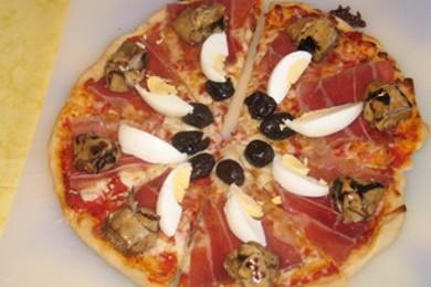 Рецепт Пицца 4 сыра