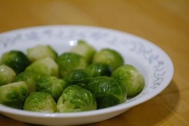 Рецепт  Тушеная брюссельская капуста