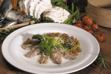 Рецепт Анчоусы, маринованные с фенхелем