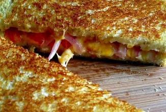 Сэндвич с сыром - приготовление