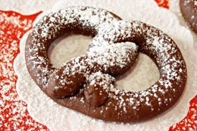 Рецепт Шоколадные крендели