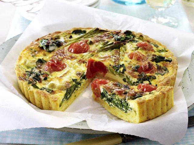 Рецепт овощного пирога