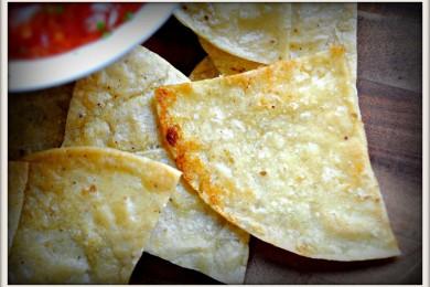 Рецепт Запеченные чипсы с соком лайма