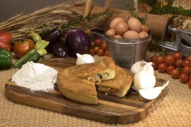 Рецепт Итальянский луковый пирог