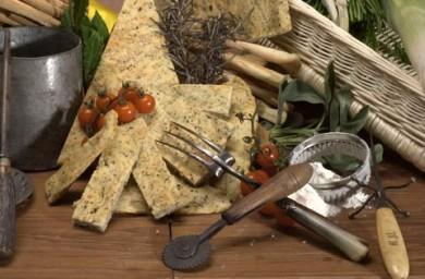 Рецепт Фокачча с пряными травами