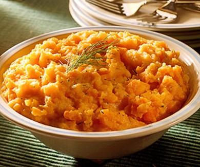 Рецепт Пюре картофельное с морковью