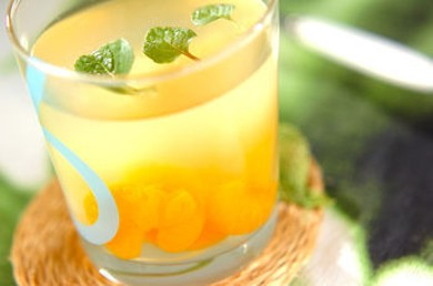 Рецепт Лимонное желе