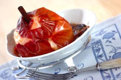 Рецепт Запеченые яблоки с корицей